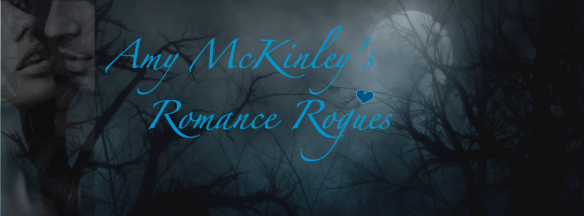 Amy McKinley Romance Rogues blue heart